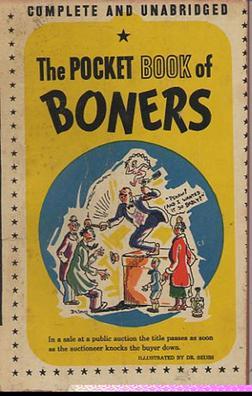 The Pocket Book Of Boners Wikipedia