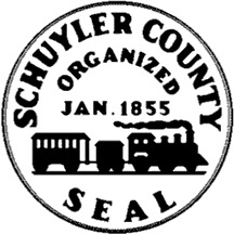 Official seal of Schuyler County