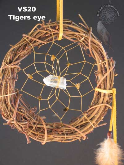 History Of Dream Catchers Cool FileVS60 Dream Catcher With Tigerseyejpg Wikipedia