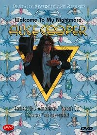 Alice Cooper Welcome To My Nightmare DVD cover from Wikipedia