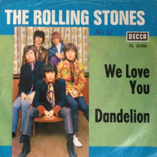 Dandelion (song) original song written and composed by Mick Jagger, Keith Richards
