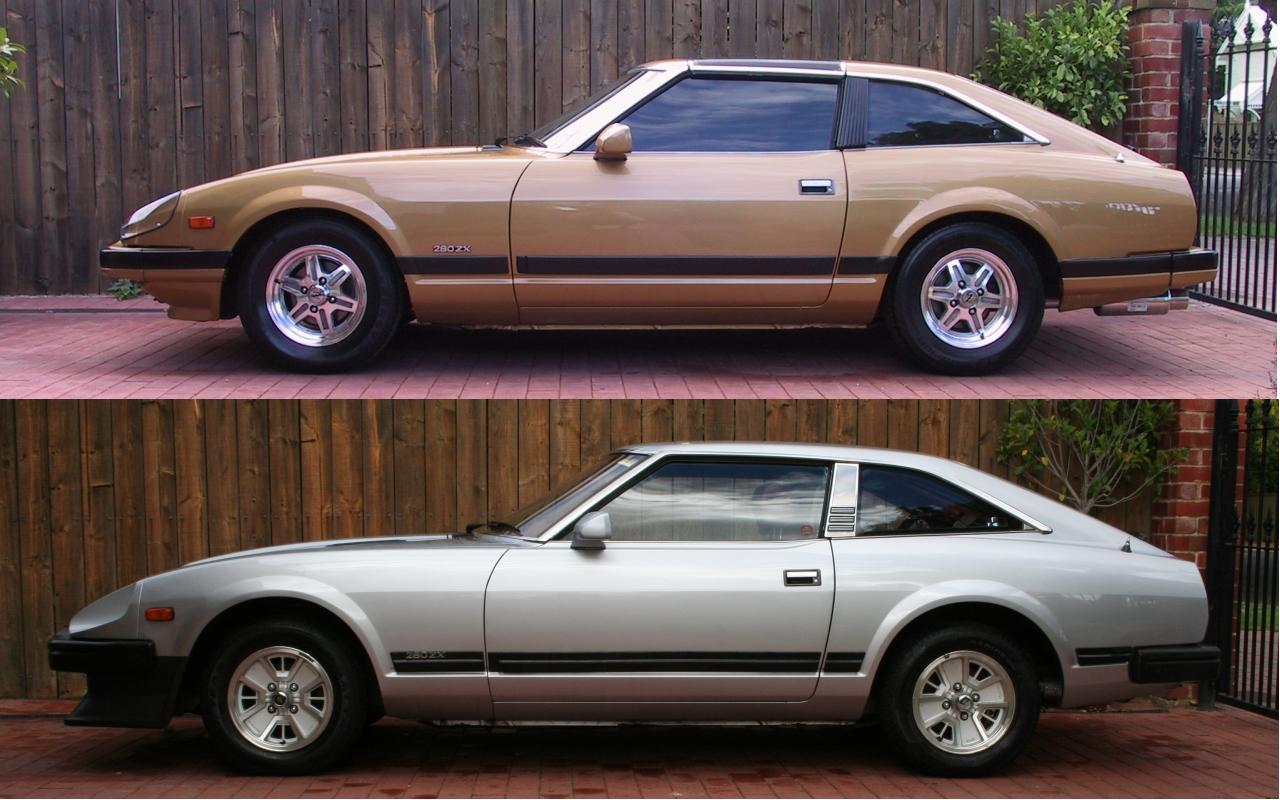 File:Datsun 280ZX SeriesI vs SeriesII.jpg - Wikipedia