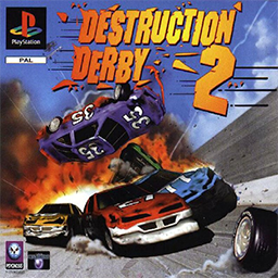 <i>Destruction Derby 2</i> video game