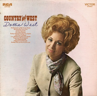 <i>Country and West</i> 1970 studio album by Dottie West