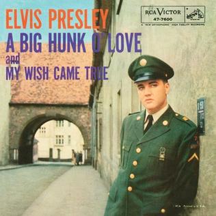 A Big Hunk o Love 1959 single by Elvis Presley
