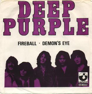 Fireball (Deep Purple song) opening song of the album of the same name by the English rock band Deep Purple