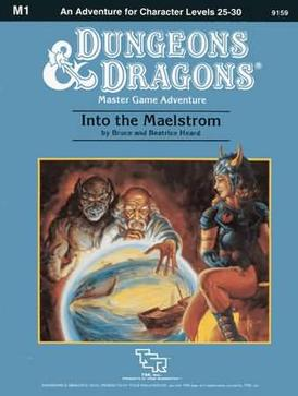 Cover of M1 Into the Maelstrom