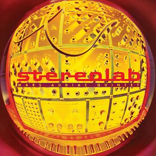 Mars Audiac Quintet Stereolab album cover