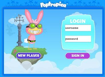 Picture of a game: Poptropica