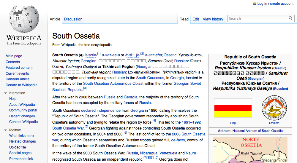 war between georgians and ossetians essay The conflicts related to the two separatist regions in georgia—abkhazia and south ossetia between georgians and south ossetians war in south ossetia.