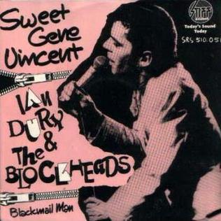 Sweet Gene Vincent 1977 single by Ian Dury