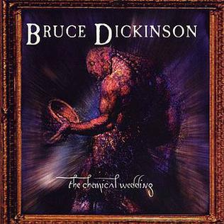 The Chemical Wedding by Bruce Dickinson, depicting Blake's painting The Ghost of a Flea.