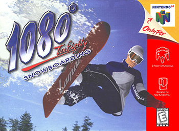 <i>1080° Snowboarding</i> snowboard racing video game