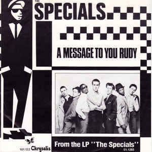 """gangsters rudy ghost town 12/"""" Vinyl Record Clock The Specials Collection"""