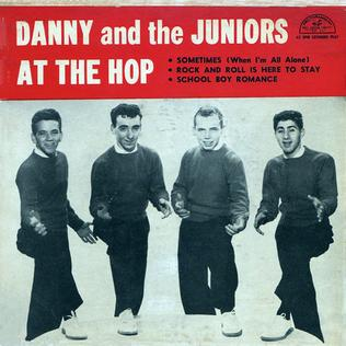 At the Hop single by Danny & the Juniors