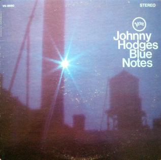 <i>Blue Notes</i> (album) 1967 studio album by Johnny Hodges