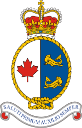 Crest of the Canadian Coast Guard.