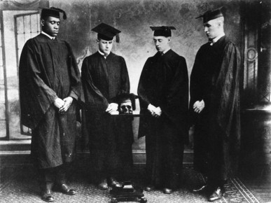 Robeson (far left) was Rutgers Class of 1919 and one of four students selected into Cap and Skull CapandSkull-Robeson.jpg