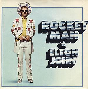 Rocket Man (song) song with music by Elton John and lyrics by Bernie Taupin