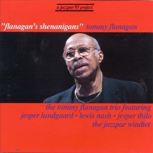 <i>Flanagans Shenanigans</i> 1995 live album by Tommy Flanagan