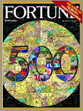 The July 24, 2006 issue of Fortune, featuring its Fortune 500 list