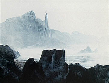 The Dark Tower in the Death Zone on Gallifrey