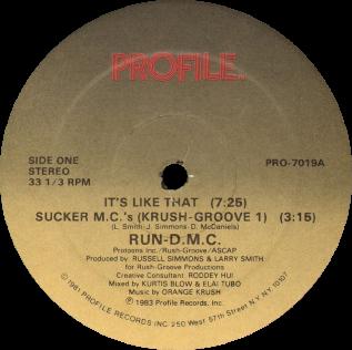 Sucker M.C.s 1983 single by Run-D.M.C.