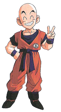 クリリン Kuririn (Krillin) de Dragon Ball