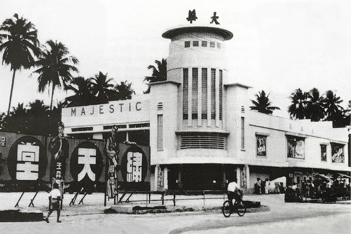 The Majestic Theatre on Pudoh Road was an early pioneer in Kuala Lumpur's cinema scene