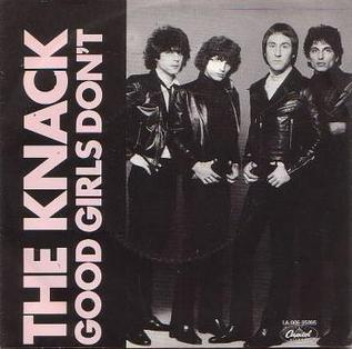 Good Girls Dont (song) 1979 single by The Knack