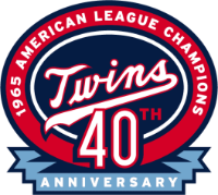Twins 40th Anniversary of 1965 World Series.