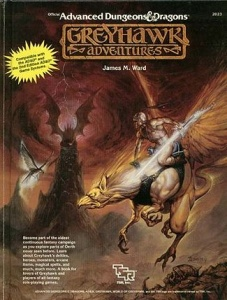 <i>Greyhawk Adventures</i> book by Jim Ward
