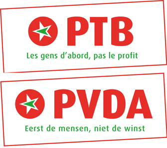 Workers Party of Belgium logo dutch.png