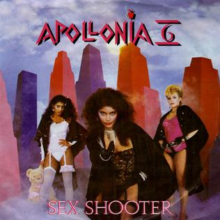 20.SEX SHOOTER (performed by Apollonia 6) (1984) album