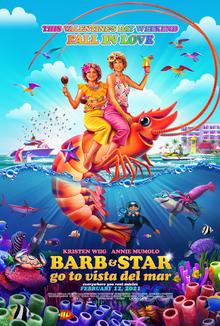 Barb and Star Go to Vista Del Mar 2021 USA Josh Greenbaum Kristen Wiig Annie Mumolo Jamie Dorna  Comedy