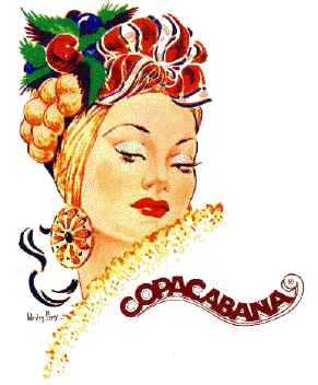 Copacabana Nightclub official logo.