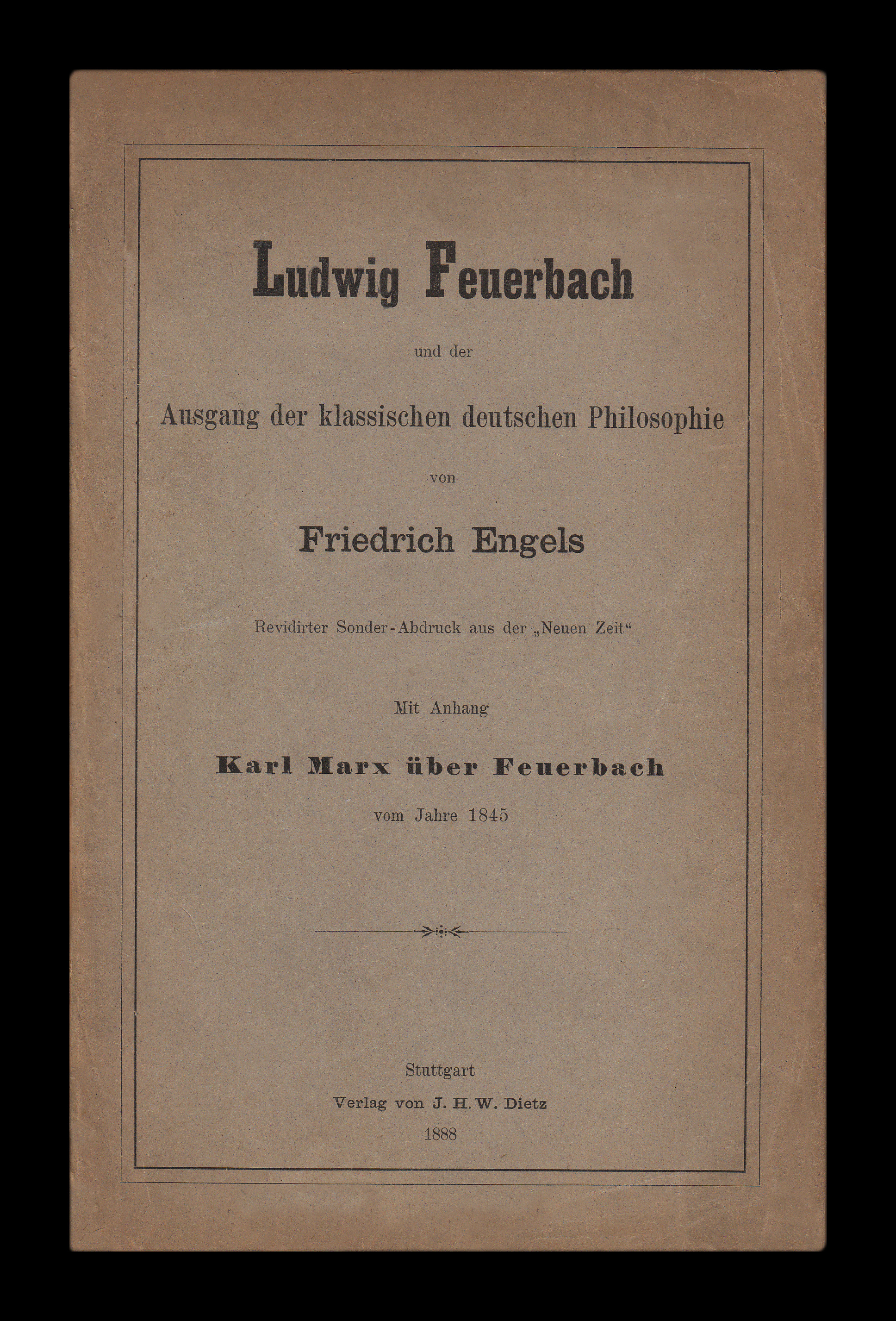 thesis on feuerbach explained Marx draws heavily (and criticizes just as heavily) on the work of feuerbach who claimed that religious faith is rooted in man's actual and material conditions, in man's perception of himself and in that god is but a projection of his earthly creators (emile durkheim argued something similar in his notion of the.