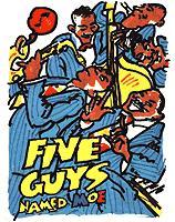 <i>Five Guys Named Moe</i> musical