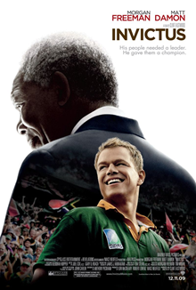 Invictus movie Matt Damon Morgan Freeman
