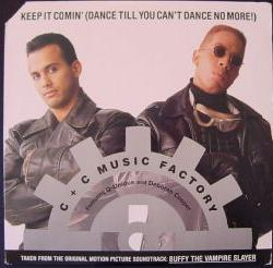 C+C Music Factory - Keep It Comin' (Dance Till You Can't Dance No More) (studio acapella)