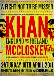 Amir Khan vs. Paul McCloskey Boxing competition