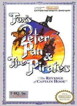 Peter Pan and the Pirates NES cover