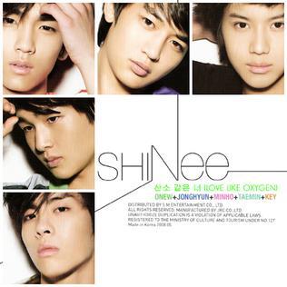 Imagem da capa da música 산소 같은 너 (Love Like Oxygen) de SHINee