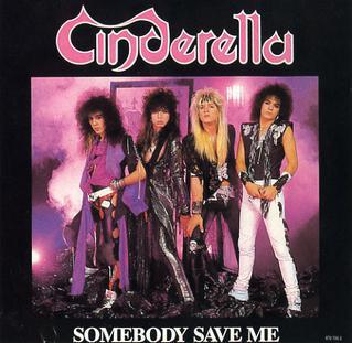 Cinderella Somebodysaveme_singleart
