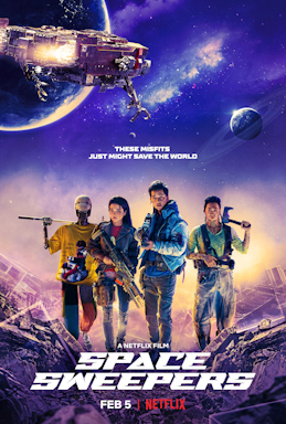 Picture of a movie: Space Sweepers