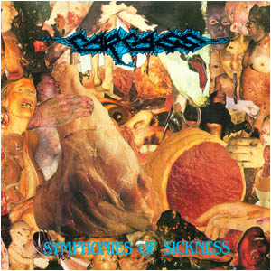 <i>Symphonies of Sickness</i> 1989 studio album by Carcass