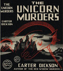 <i>The Unicorn Murders</i> book by John Dickson Carr