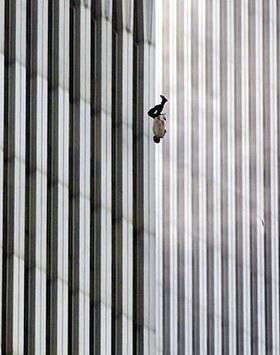 9 11 Falling Bodies The falling man