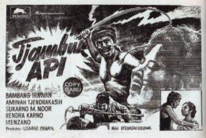 <i>Tjambuk Api</i> 1958 film by D. Djajakusuma