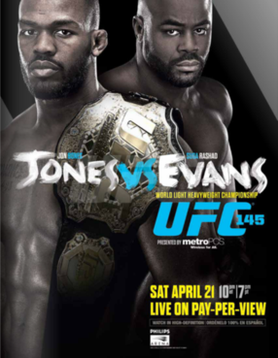 UFC 145: Jones vs. Evans Preview